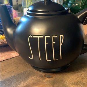 🌬Brand New Tea Pot the New Black & White🎉
